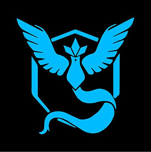 Team Mystic Pokemon GO - Blue Vinyl Decal