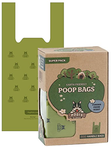 pogis-poop-bags-300-bags-with-easy-tie-handles-large-biodegradable-scented-leak-proof-pet-waste-bags