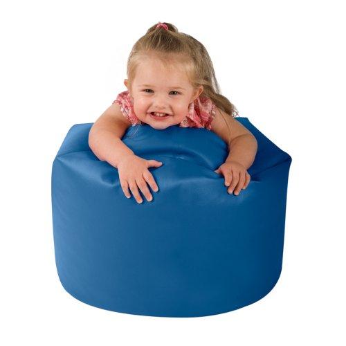My 1st Bean Bag - Faux Leather Childrens Bean Bags BLUE - Small Kids Bean Bag