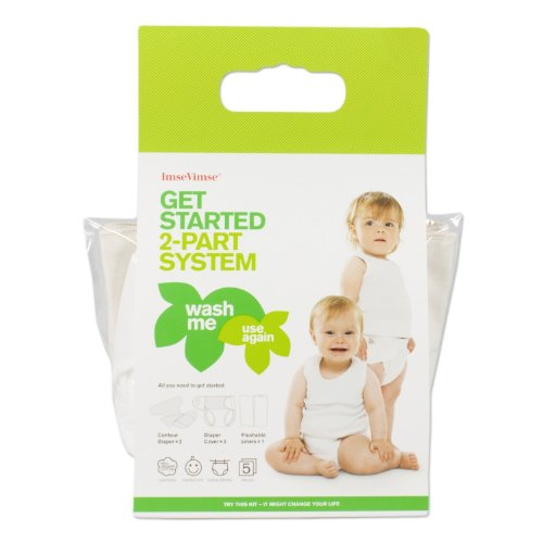 Imse Vimse Two Piece Get Started Kit (Medium 15-22 lbs)