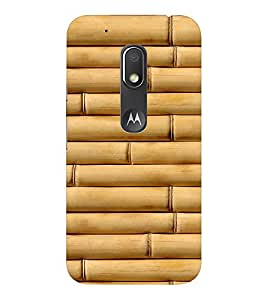 EPICCASE bamboo Mobile Back Case Cover For Moto Play (Designer Case)