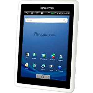 PanDigital 72-70FW 7-Inch Tablet Computer – White (Remanufactured)