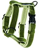 Planet Dog Cozy Hemp Adjustable Harness, Apple Green, Medium
