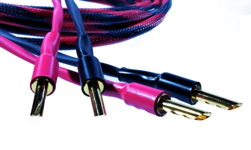 Better Cables - 2 Meter (6.56 Feet) Single Cable Premium Iii Speaker Cable With Banana Plugs- High-End, High-Performance, Premium Hi-Fi Audio
