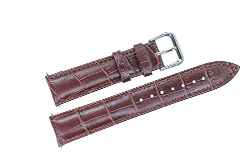 26mm-brown-wide-leather-watch-straps-genuine-top-grain-calf-skin-for-mens-big-wristwatches-grosgrain
