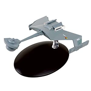 Star Trek Starships Klingon D7 Battlecruiser Die-Cast Metal Vehicle with Collector Magazine