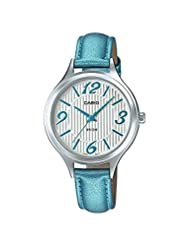 Casio Enticer Lady's Analog White Dial Women's Watch - LTP-1393L-2AVDF (A1033)