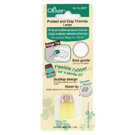 New Clover 6027 Protect and Grip Thimble
