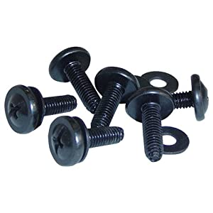 VMP ER-RS1032-50 Equipment Rack Screws (50 Count, Black)