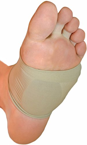 NatraCure Arch Support Sleeves w/ Gel Cushions - (1 Pair) - 1290-M-00 CAT