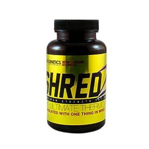 Weight Loss Pills - Shredz - Maximum Fat Burner Pills - A True Diet Supplement from Beyond Genetics Supplements