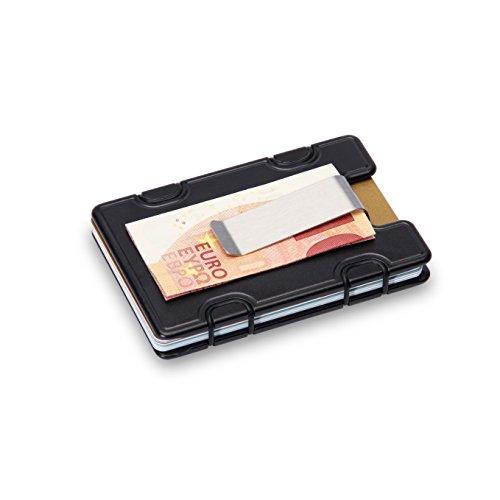 M1 Clip Wallet Portafoglio Borsellino Nero