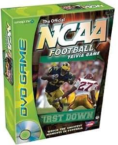 Amazon.com: NCAA Football Trivia DVD Game: Toys & Games