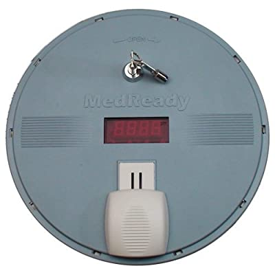 Medready Medication Dispenser With Flashing Light Alarm