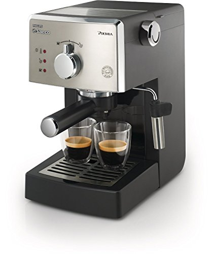 Saeco HD8325/47 Poemia Class Manual Espresso Machine, Black