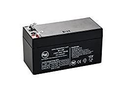 B&B BP1.2-12 (3.82 x 1.77 x 2.32) 12V 1.3Ah UPS Battery - This is an AJC Brand Replacement