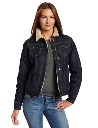 (抢购)Dickies Women's Jacket 迪基斯女士修身毛绒纯棉保暖夹克 蓝$49.96 曲线未更