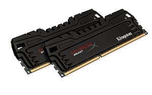 Kingston HyperX Beast 8 GB Kit (2x4 GB) 1600MHz DDR3 PC3-12800 Non-ECC CL9 DIMM XMP Desktop Memory KHX16C9T3K2/8X