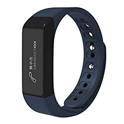 EFOSHM Wireless Activity and Sleep Monitor Pedometer Smart Fitness Tracker Wristband Watch Bracelet for Men Man iPhone 6s 6 Plus 5S 5C 5 4S,Galaxy S6 S5 S4 S3,Note 4 3 2,Nexus,HTC One 2 M8,LG G3,MOTO by EFO-S