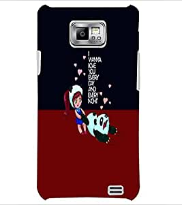 PrintDhaba Quote D-5888 Back Case Cover for SAMSUNG GALAXY S2 (Multi-Coloured)