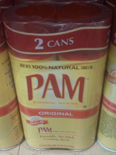 2 Pack - Pam Non-stick Cooking Spray 12oz. Cans (Total 24oz.)