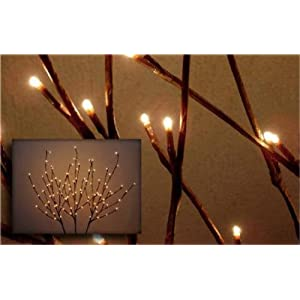 wedding reception decoration ideas, lighted willow branch