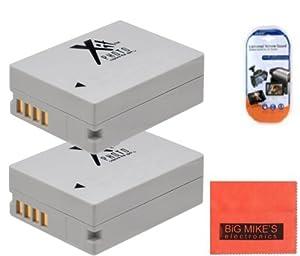 BM Premium (2 Pack) NB-10L Battery for Canon PowerShot G1 X, G15, G16, SX40 HS, SX50 HS, SX60 HS Digital Camera Battery