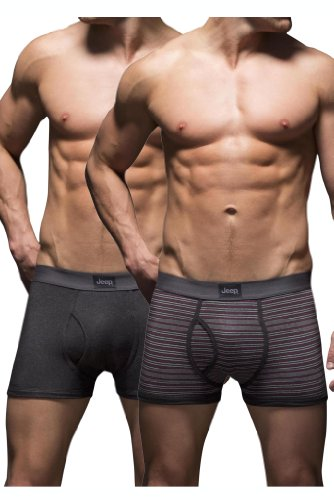 mens-2-pack-jeep-dual-fine-stripe-and-plain-hipster-trunks-charcoal-cherry-l