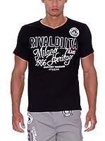 Rivaldi Camiseta Manga Corta Mojitosy (Negro)