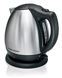 amilton Beach 40870 Electric Kettle Black/Stainless 10 Cups