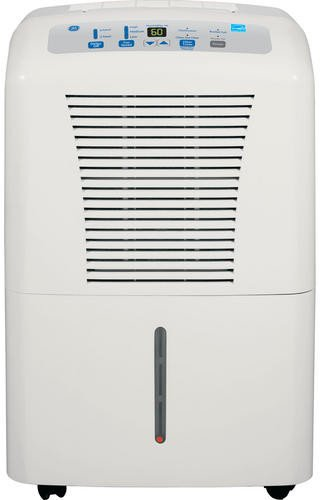 GE ADER65LP 65 Pint Dehumidifier with 3 Fan Speeds, 195 CFM Air Circulation