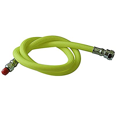 """Scuba Diving 36"""" Flexible Braided Hose Yellow Low Pressure Regulator Hose 2nd Stage"""