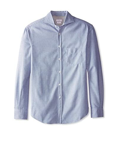 Brunello Cucinelli Men's Dotted Shirt