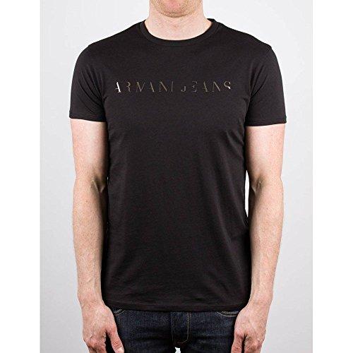 Maglietta Maniche Corte Armani Jeans C6H12FF12- nero XS