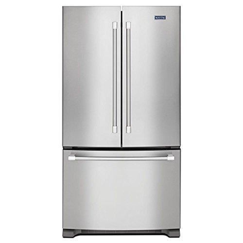 Maytag® 22 cu. ft. 3-Door French Door Refrigerator with Strongbox™ Door Hinges