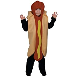 Jumbo Hot Dog - Kids Costume (8-10 Years) by Wicked Costumes