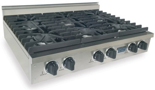 36 6 Burner Gas Cooktop