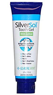 2 Packs of American Biotech Labs Silversol Tooth Gel - Xylitol - 4 Oz