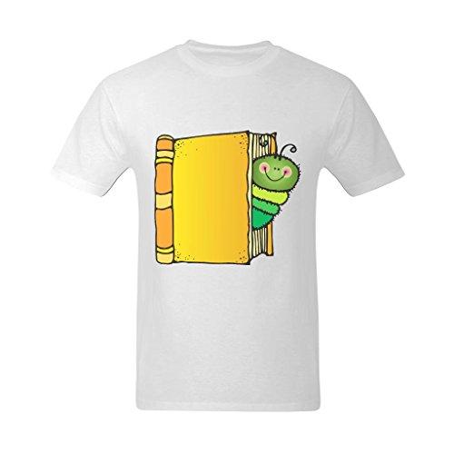 yvonger-mens-beautiful-book-love-worm-curious-design-tshirt-xl
