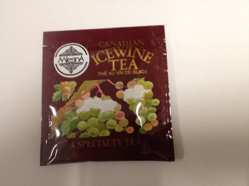 200 Individually Foil Wrapped Ice Wine Tea Bags