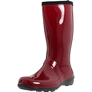 Kamik Women's Heidi Rain Boot,Red,6 M US
