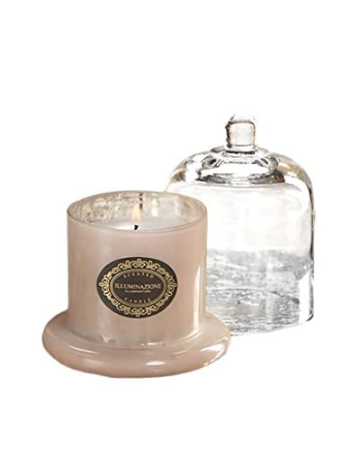 Zodax Illuminazione Small Scented Candle Jar with Dome, Pink