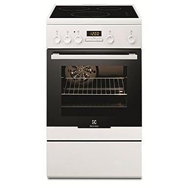 Electrolux EKI54551OW cuisinière - fours et cuisinières (Autonome, Blanc, Electrique, Induction, Convection, conventionnel, décongeler, Grill, A)