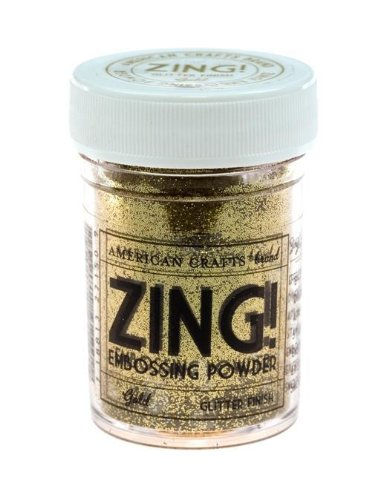 Zing! Glitter Embossing Powder 1-Ounce, Gold