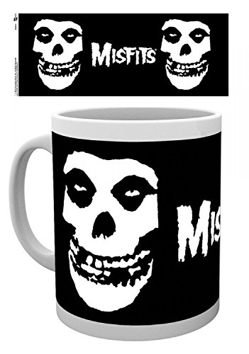 Set: The Misfits, Logo Tescho, London Dungeon Tazza Da Caffè Mug (9x8 cm) E 1 Sticker Sorpresa 1art1®