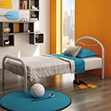Polo Twin Steel Bed Color: Dayglam Picture