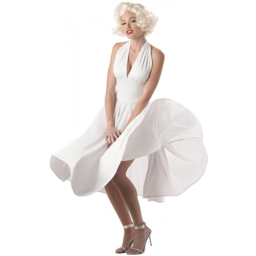 Sexy Marilyn Monroe Costume - Small - Dress Size 6-8