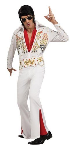 Adult Men's Deluxe Elvis Presley Halloween Costume
