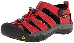 KEEN Newport H2 Sandal (Toddler/Little Kid/Big Kid),Ribbon Red/Gargoyle,1 M US Little Kid