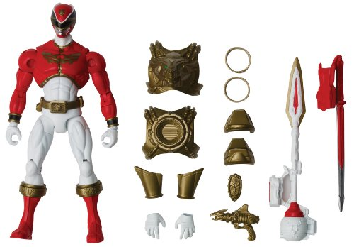 Power Rangers Megaforce Armored Ultra Mode Red Ranger